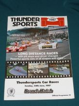 Brands Hatch 1987 June 28 THUNDERSPORTS
